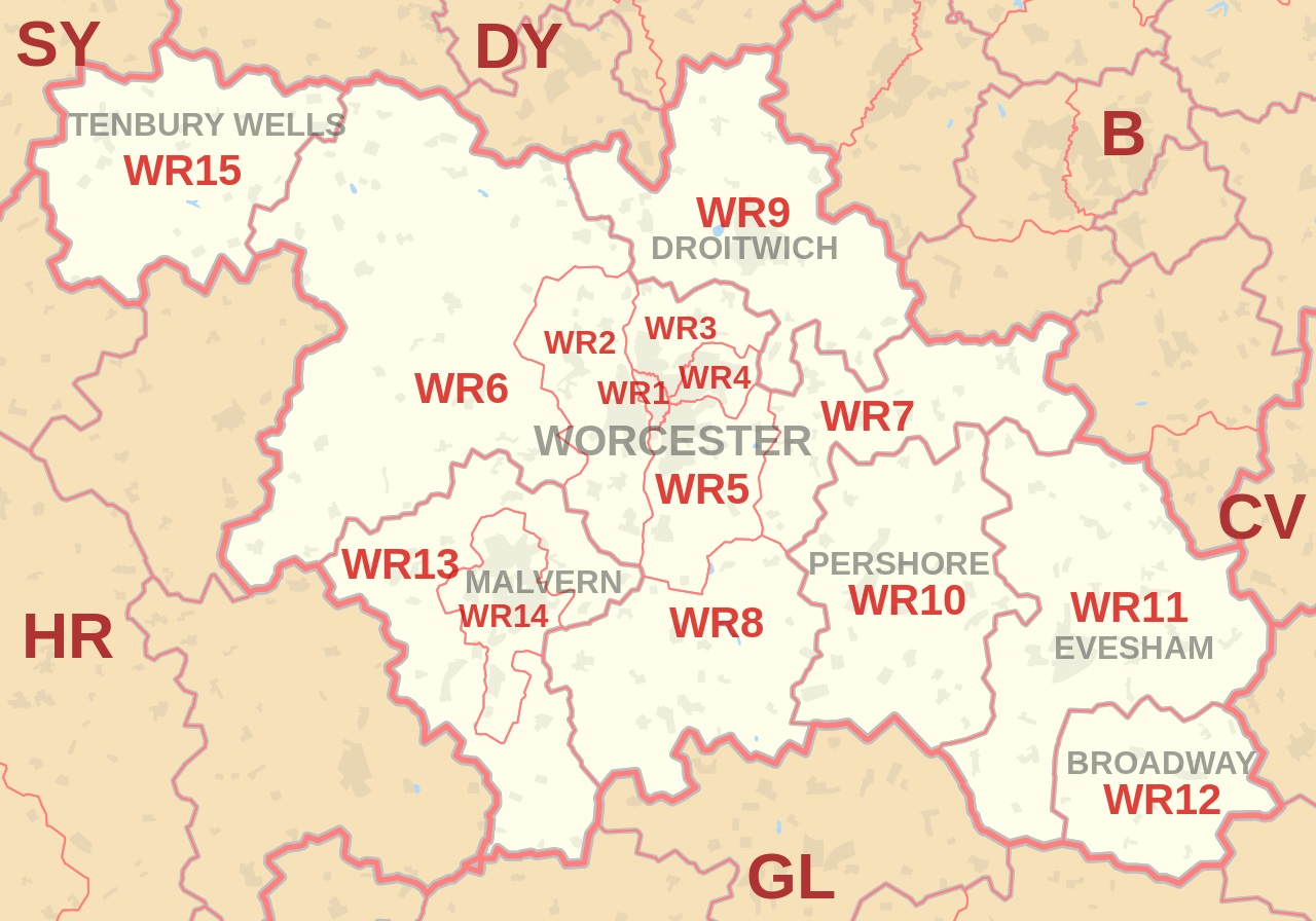 Map What's On In Worcester
