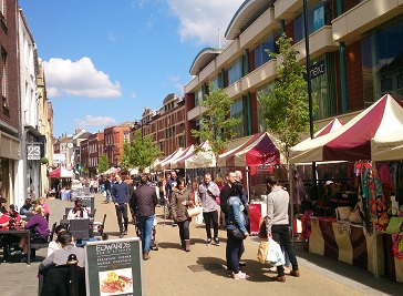 Worcester Markets & Events in Worcester